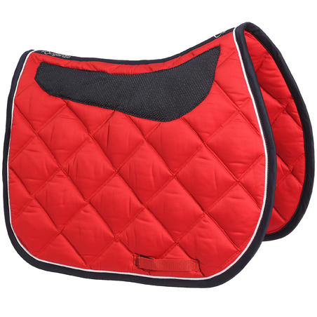 Grippy Horse Riding Saddle Cloth for Horses - Red