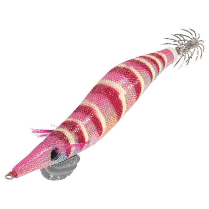 Inktvisplug voor het vissen op koppotigen EBIKA 3.0 ROZE
