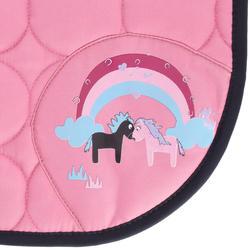 Zadeldek Love ruitersport roze - Shetlandpony - 401625