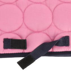 Zadeldek Love ruitersport roze - Shetlandpony - 401626