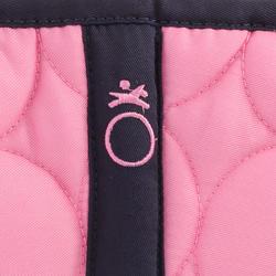 Zadeldek Love ruitersport roze - Shetlandpony - 401627