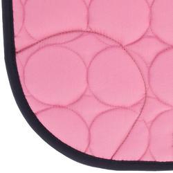 Zadeldek Love ruitersport roze - Shetlandpony - 401631