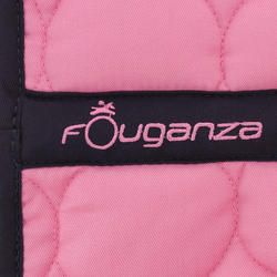 Zadeldek Love ruitersport roze - Shetlandpony - 401632