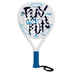 Padel racket PR700 kinderen wit/blauw