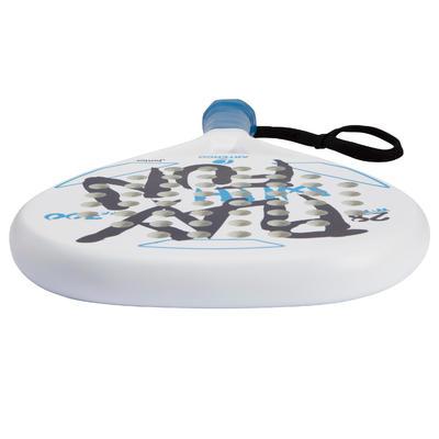 Pala de pádel para niños PR700 blanco / azul