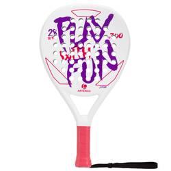 Padel racket PR700 kinderen wit/paars