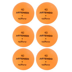 Tafeltennisballetjes FB800 6 stuks