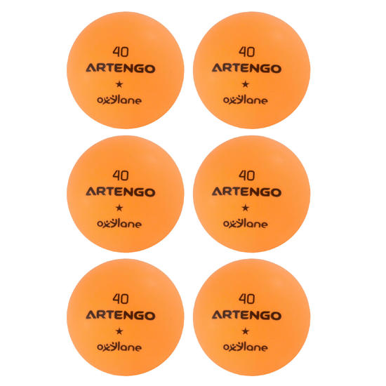 Tafeltennisballetjes FB800 6 stuks - 4021