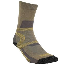 Calcetines Caza Solognac S500 Beige
