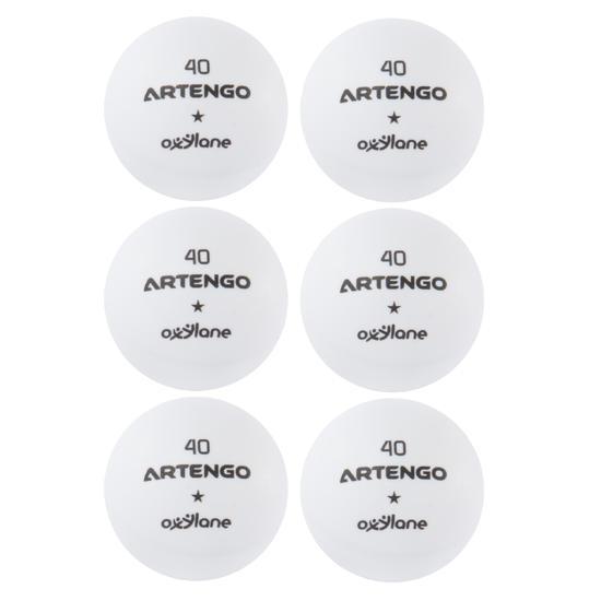 Tafeltennisballetjes FB800 6 stuks - 4023
