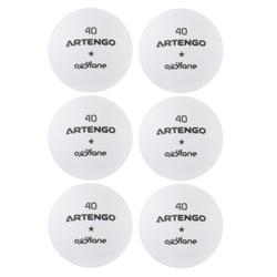 Tafeltennisballen Artengo FB800 6 stuks