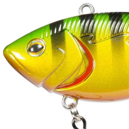 poisson nageur coulant sans bavette KOWAI 70 PERCHE RAYÉE