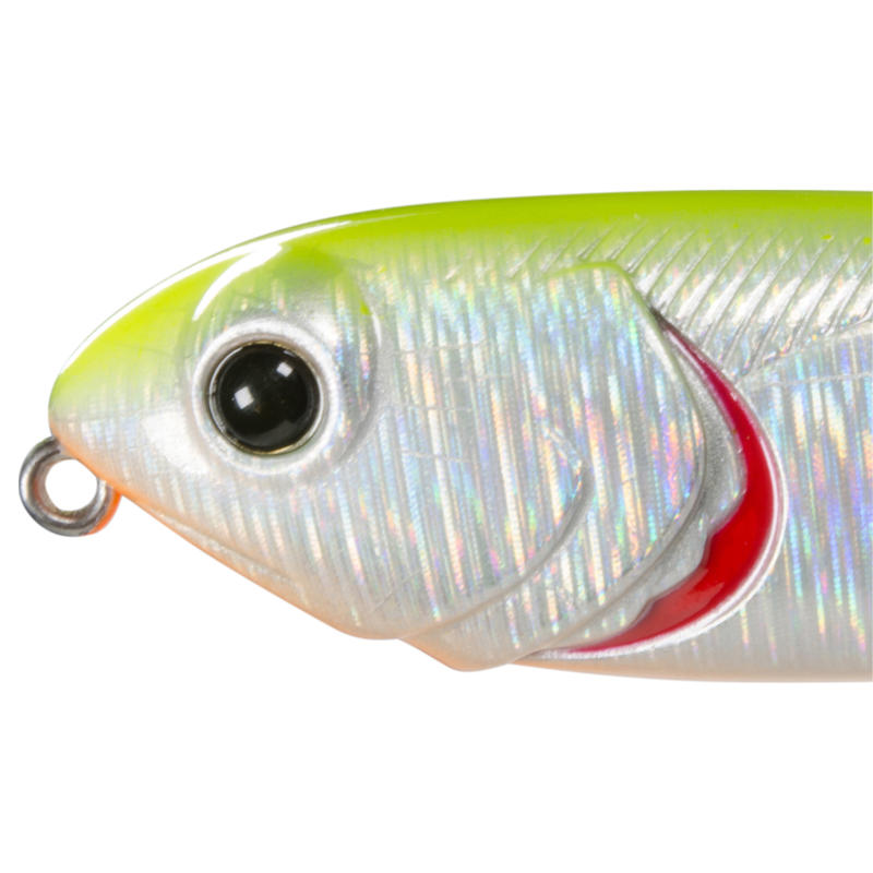 fishing plug bait MURRAY 80 HOLO LEMON