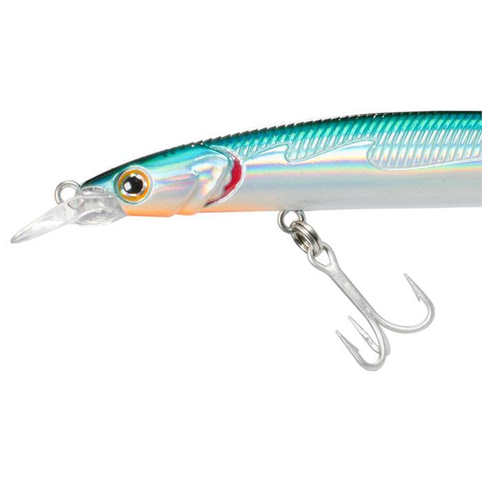 Kunstvisje voor zeevissen Saxton slim 125 holo blauw
