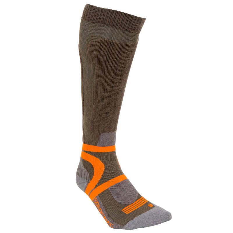 PONOŽKY A PŘÍSLUŠENSTVÍ K LOVECKÝM BOTÁM Myslivost a lovectví - LOVECKÉ PODKOLENKY 900 SOLOGNAC - Myslivecká obuv a ponožky