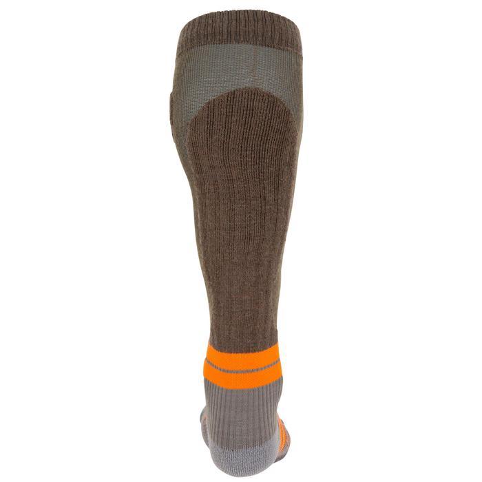 Calcetín caza Max-Warm 500 largo marrón