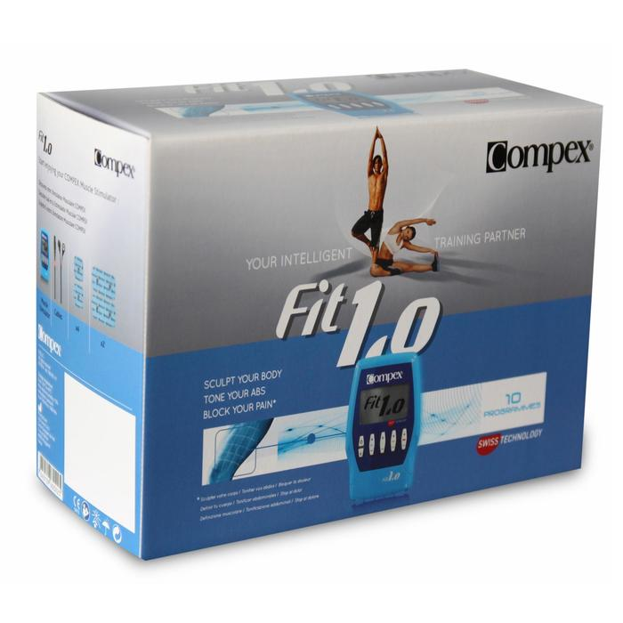 Electroestimulador de musculación FIT 1.0 COMPEX
