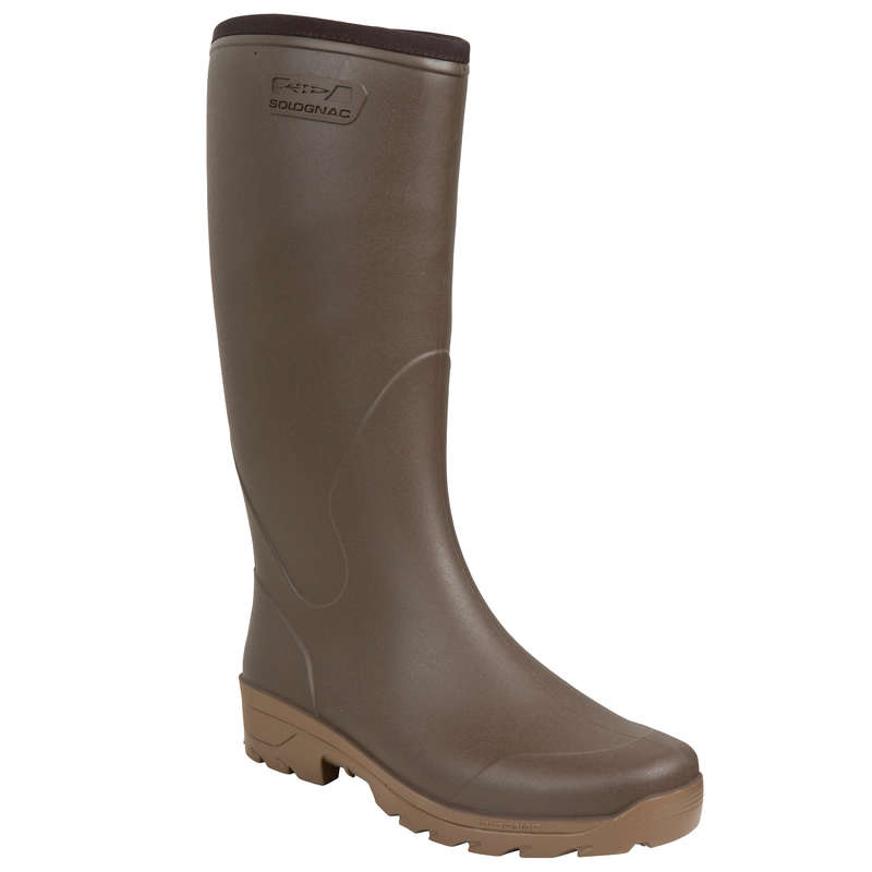 INSULATED WELLIES Shooting and Hunting - GLENARM 300 WELLIES WARM SOLOGNAC - Shooting and Hunting