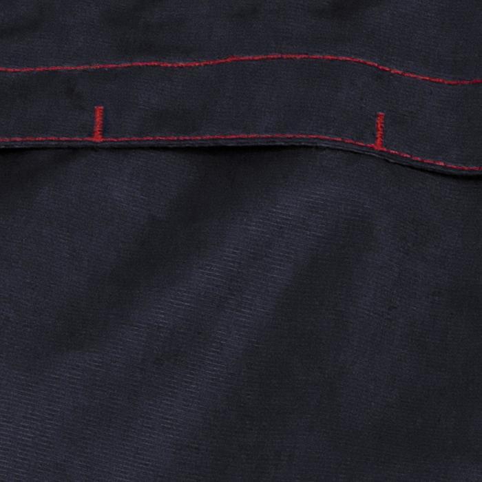 Cazadora impermeable equitación adulto JKT500 azul marino