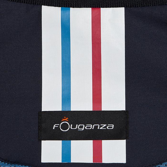 Cazadora Equitación Fouganza 500 Mujer Azul Marino Impermeable y Transpirable