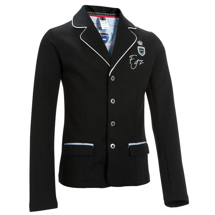 Paddock Children's Horse Riding Show Jacket - Black - 403340