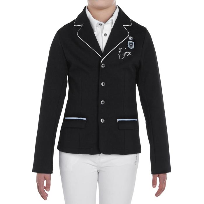 Paddock Children's Horse Riding Show Jacket - Black - 403341