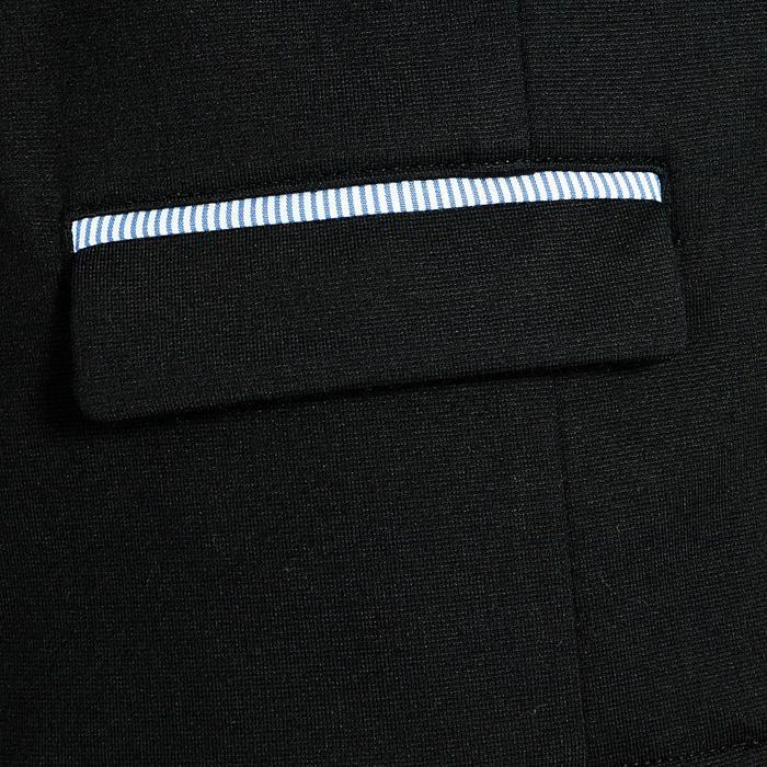 Paddock 兒童馬術表演夾克 - 黑色