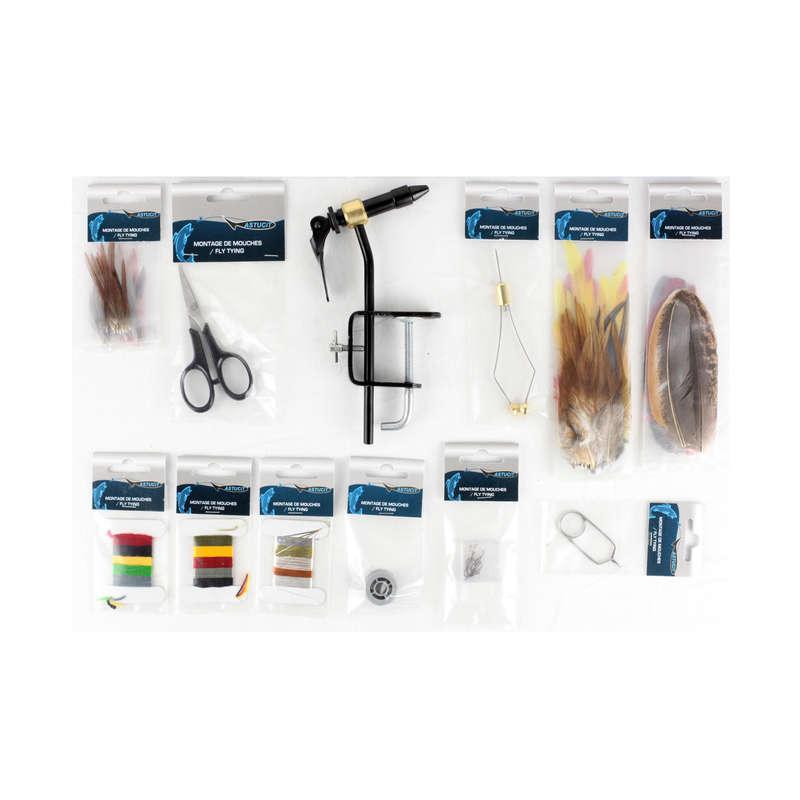 FLUGFISKE Fiske - Monteringskit flugfiske ASTUCIT - Flugfiske
