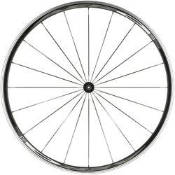 Vorderrad 700 für Rennrad Aero schwarz