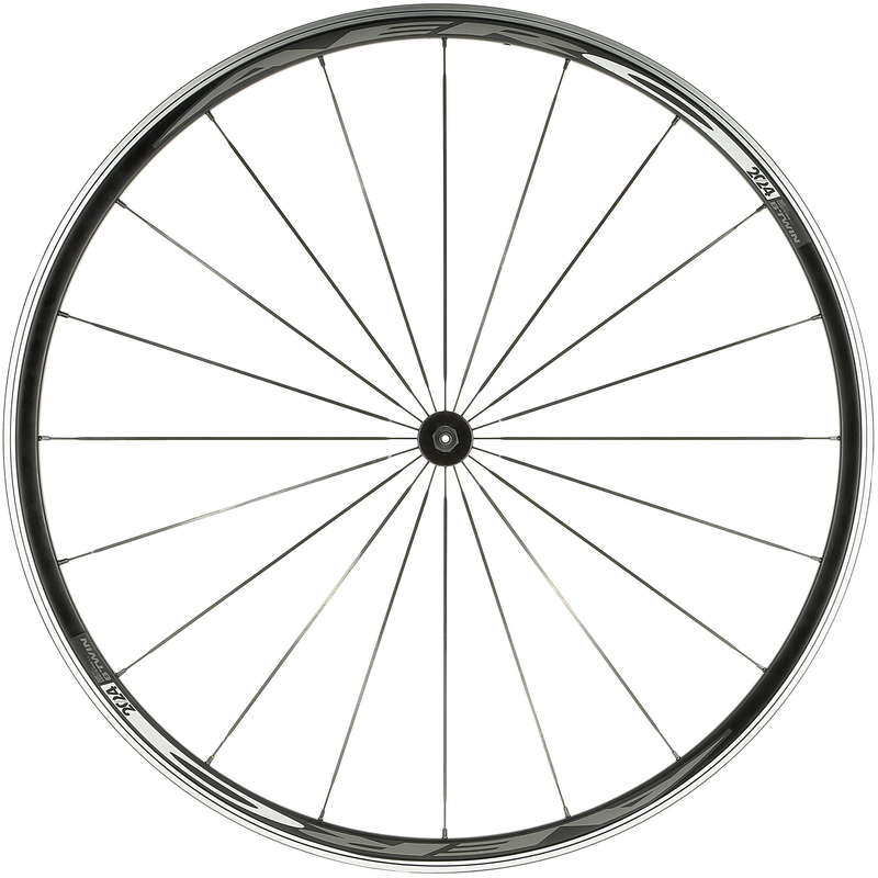 WHEELS Cycling - Aero 20/24 Road bike Wheel - front BTWIN - Cycling