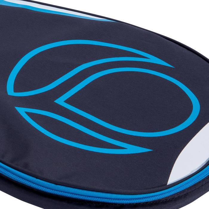 Padel rackethoes grijs/blauw