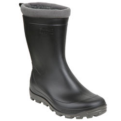 Glenarm Warm Women's Rainboots - Black