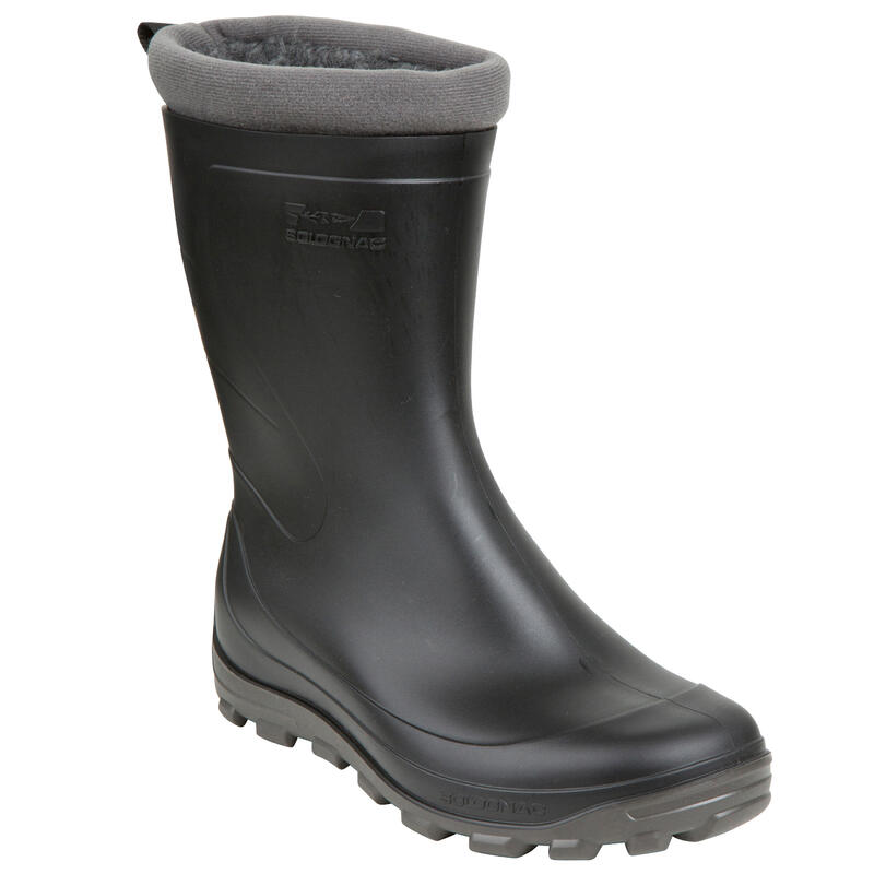 Çocuk Miflonlu Çizme - Siyah