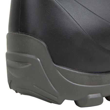 Men's Warm Short Wellies - Black
