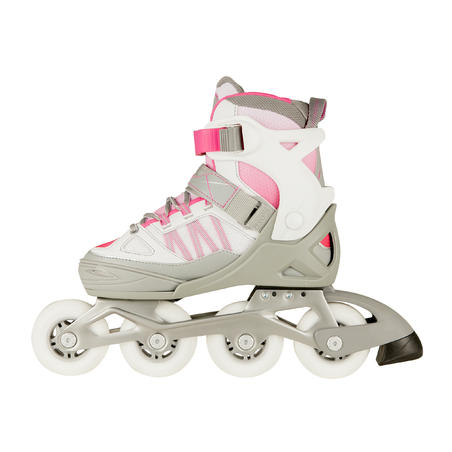 Patines fitness niños FIT 5 JUNIOR rosa blanco