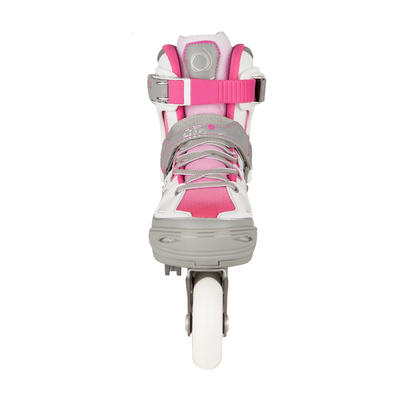Fit 5 Kids' Inline Fitness Skates - Pink/White