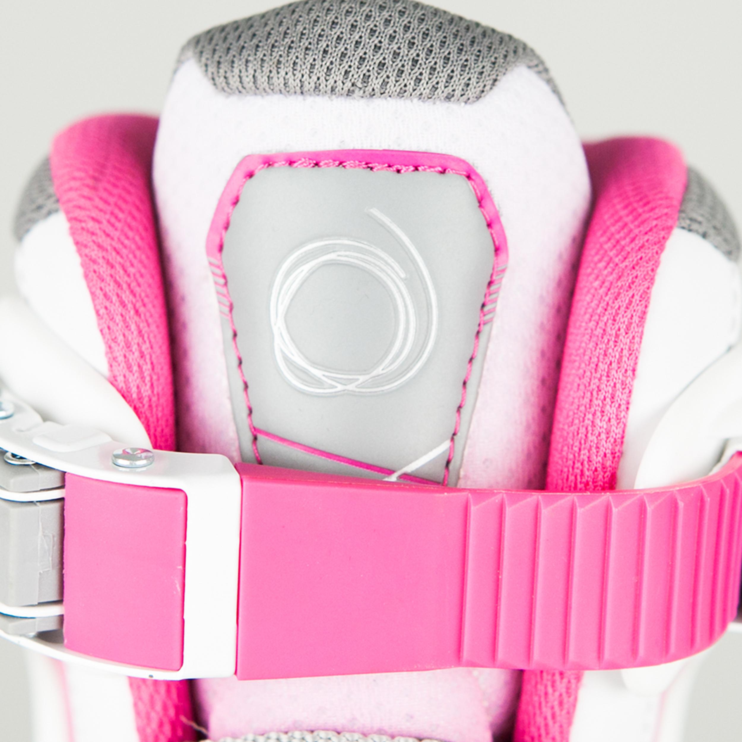 Patins à roues alignées pour enfant FIT 5 Jr rose/blanc