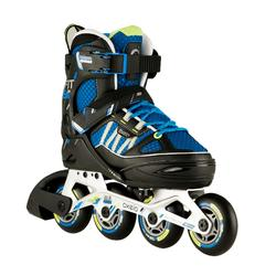 Fit 5 Jr Kids' Inline Fitness Skates - Blue/Black