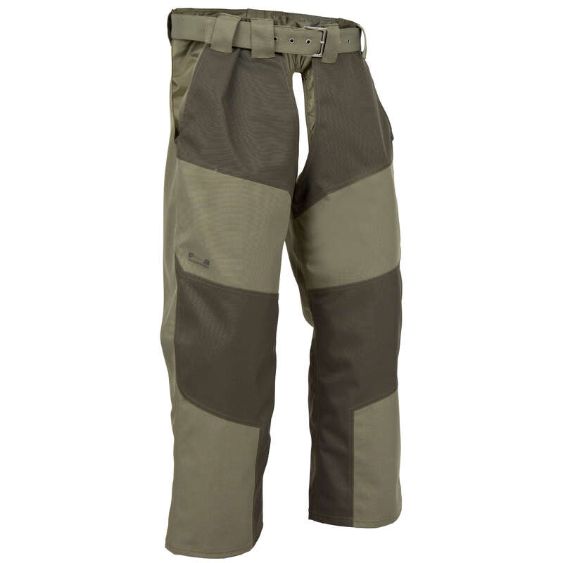 HUNTING CHAPS Shooting and Hunting - SUPERTRACK 300 CHAPS GREEN SOLOGNAC - Hunting and Shooting Clothing