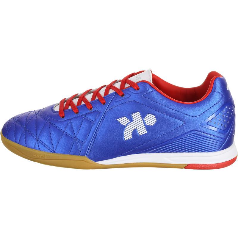Agility 500 Junior Futsal Trainers - Blue Red