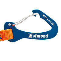 Extendible strap for ice axe - SINGLE LEASH
