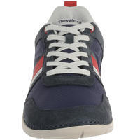 Flow SPW men's everyday walking shoes blue/red