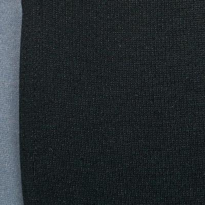 Pantalon équitation femme BICOLO 500 noir et gris