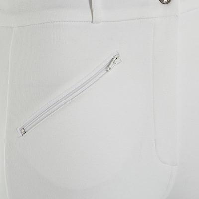بنطلون للسيدات لركوب الخيل 100 - لون أبيض