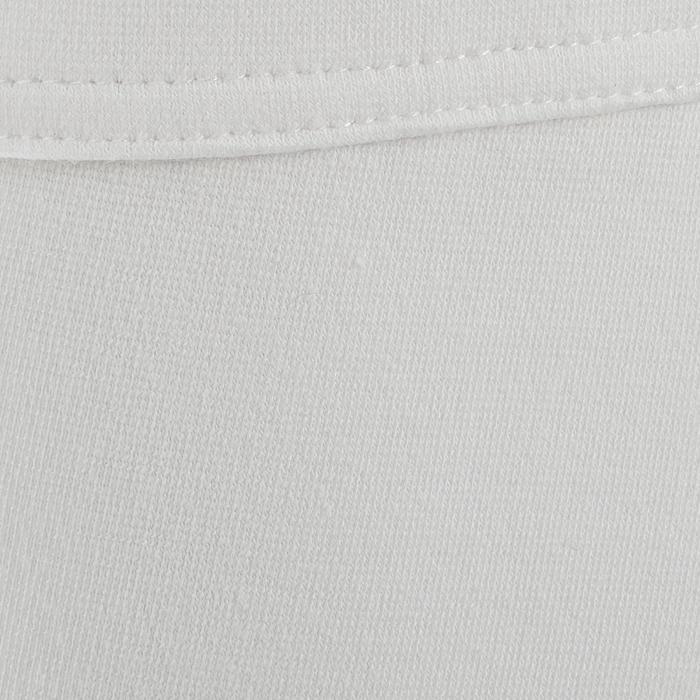 Turnierreithose 100 Kniebesatz Damen weiß