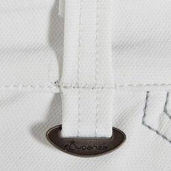 Wedstrijdrijbroek Performer 300 voor dames, kunstleren zitvlak, wit - 405834