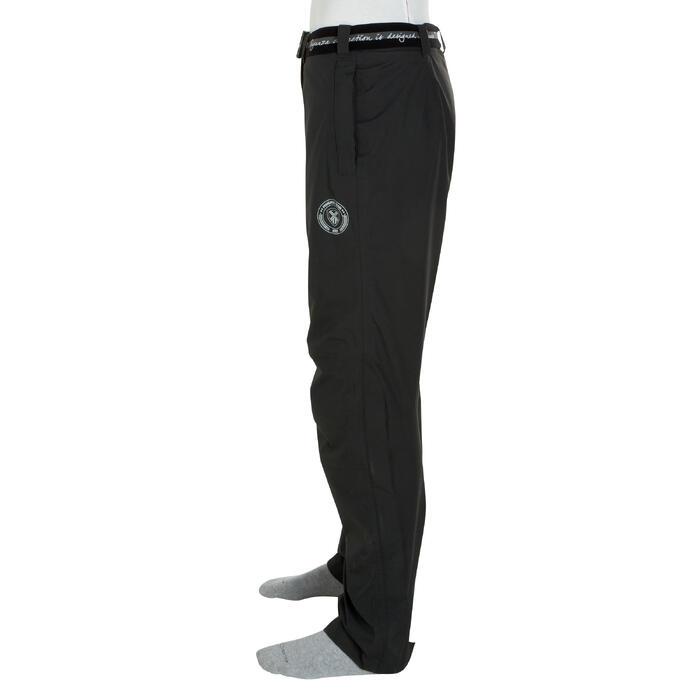 Sur pantalon imperméable équitation 500 2en1 noir - 405888