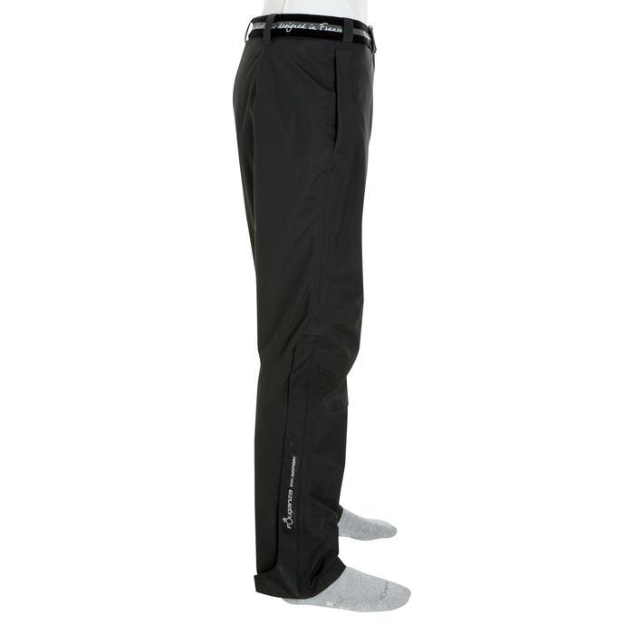 Sur pantalon imperméable équitation 500 2en1 noir - 405890