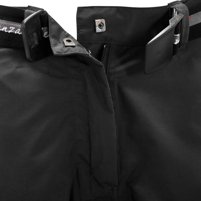 Sur pantalon imperméable équitation 500 2en1 noir - 405893