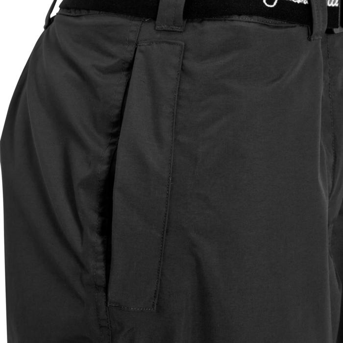 Sur-pantalon équitation adulte 500 imperméable 2 en 1 noir